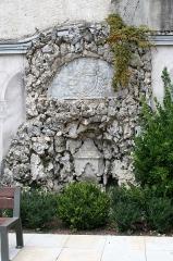 Ancienne église Saint-Jean - Français:   Église Saint-Jean de Bagnères-de-Bigorre: reste d\'un mur de l\'église