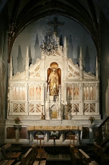 Eglise Saint-Vincent - Français:   Église Saint-Vincent de Bagnères-de-Bigorre - Chapelle interne, gauche de la nef