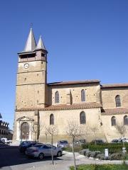Eglise - Français:   Collégiale de l\'Assomption de Castelnau-Magnoac (Hautes-Pyrénées, France)