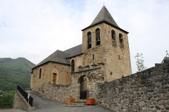 Eglise d'Esquièze - Église Saint-Nicolas d'Esquièze à Esquièze-Sère