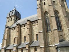 Eglise paroissiale Saint-Laurent - English: St. Lawrence Collegiate Church, Ibos, Hautes-Pyrénées, France