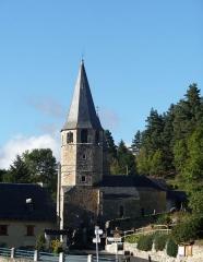 Eglise Sainte-Eulalie -  Lançon (Hautes-Pyrénées, France), église Ste Eulalie.
