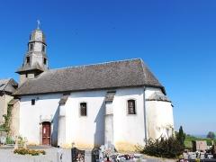 Eglise - Église Saint-Jean-l'Évangéliste de Luc (Hautes-Pyrénées)