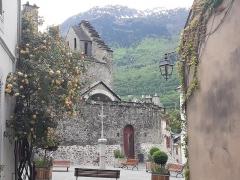 Eglise des Templiers -  Église des templiers, Luz-Saint-Sauveur
