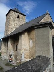 Eglise Saint-Barthélémy et ses annexes (tour et chapelle) -  Mont (Hautes-Pyrénées, France), église St Barthélémy.