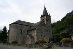 Eglise Saint-Pierre et Saint-Etienne -  Eglise romane Saint-Ebons
