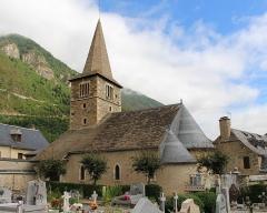 Eglise Saint-Barthélémy - Église Saint-Barthélémy de Vielle-Aure (Hautes-Pyrénées)
