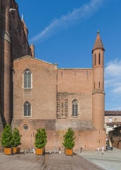 Cathédrale Sainte-Cécile - English: Saint Cecilia Cathedral of Albi, Tarn, France        This place is a UNESCO World Heritage Site, listed as Cité épiscopale d'Albi.  العربية | asturianu | беларуская | беларуская (тарашкевіца)‎ | বাংলা | català | čeština | dansk | Deutsch | English | español | euskara | فارسی | français | עברית | hrvatski | magyar | italiano | 日本語 | 한국어 | latviešu | македонски | മലയാളം | مازِرونی | Nederlands | polski | português | português do Brasil | română | русский | sicilianu | slovenčina | slovenščina | Türkçe | українська | Tiếng Việt | 中文 | 中文(中国大陆)‎ | 中文(简体)‎ | 中文(繁體)‎ | 中文(台灣)‎ | +/−