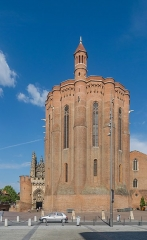 Cathédrale Sainte-Cécile - English: Saint Cecilia Cathedral of Albi, view from Place Sainte-Cécile, Tarn, France        This place is a UNESCO World Heritage Site, listed as Cité épiscopale d'Albi.  العربية | asturianu | беларуская | беларуская (тарашкевіца)‎ | বাংলা | català | čeština | dansk | Deutsch | English | español | euskara | فارسی | français | עברית | hrvatski | magyar | italiano | 日本語 | 한국어 | latviešu | македонски | മലയാളം | مازِرونی | Nederlands | polski | português | português do Brasil | română | русский | sicilianu | slovenčina | slovenščina | Türkçe | українська | Tiếng Việt | 中文 | 中文(中国大陆)‎ | 中文(简体)‎ | 中文(繁體)‎ | 中文(台灣)‎ | +/−