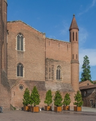 Cathédrale Sainte-Cécile - English: Saint Cecilia Cathedral of Albi, Tarn, France        This place is a UNESCO World Heritage Site, listed as Cité épiscopale d'Albi.  العربية | asturianu | беларуская | беларуская (тарашкевіца)‎ | বাংলা | català | čeština | dansk | Deutsch | English | español | euskara | فارسی | français | עברית | hrvatski | magyar | bahasa Indonesia | italiano | 日本語 | 한국어 | latviešu | македонски | മലയാളം | مازِرونی | Nederlands | polski | português | português do Brasil | română | русский | sicilianu | slovenčina | slovenščina | Türkçe | українська | Tiếng Việt | 中文 | 中文(中国大陆)‎ | 中文(简体)‎ | 中文(繁體)‎ | 中文(台灣)‎ | +/−