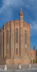 Cathédrale Sainte-Cécile - English: Saint Cecilia Cathedral of Albi, view from Place Sainte-Cécile, Tarn, France       This place is a UNESCO World Heritage Site, listed as Cité épiscopale d'Albi.  العربية| Asturianu| Беларуская| Беларуская (тарашкевіца)| বাংলা| Català| Čeština| Dansk| Deutsch| English| Español| Euskara| فارسی| Français| עברית| Hrvatski| Magyar| Italiano| 日本語| 한국어| Latviešu| Македонски| മലയാളം| مازِرونی| Nederlands| Polski| Português| Русский| Slovenčina| Slovenščina| Türkçe| Українська| Tagalog| Tiếng Việt| 中文(简体)| 中文(繁體)| +/−
