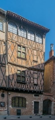 Maison - English: Building at 12 rue d'Engueysse in Albi, Tarn, France
