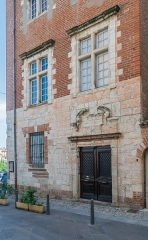 Maison - English: Building at 1 rue de la Grand'Côte in Albi, Tarn, France