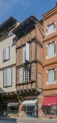 Maison - English: Building at 10 rue Saint-Julien in Albi, Tarn, France