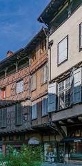 Maison - English: Building at 14 rue Saint-Julien in Albi, Tarn, France