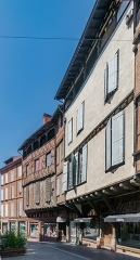 Maison - English: Rue Saint-Julien in Albi, Tarn, France