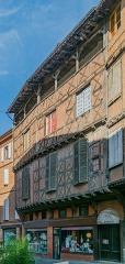 Maison - English: Building at 16 rue Saint-Julien in Albi, Tarn, France