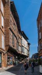 Maison - English: Rue Saint-Julien in Albi, Tarn, France