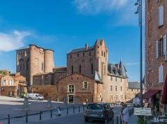 Palais de l'Archevêché ou de la Berbie - English: Palais de la Berbie in Albi, Tarn, France