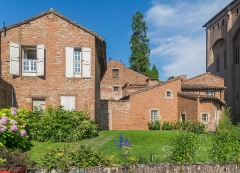 Palais de l'Archevêché ou de la Berbie - English: Outbuildings of the Palais de la Berbie in Albi, Tarn, France