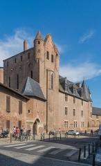 Palais de l'Archevêché ou de la Berbie - English: Palais de la Berbie in Albi (Tour of Amboise and Courtain of Bernard de Castanet), Tarn, France
