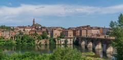 Vieux pont - Français:   Vieux pont d\'Albi, Tarn, France