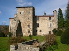 Château de Campan - English: Castel of Campan, south view