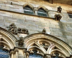 Maison du Grand Veneur - Maison du Grand Veneur, détail de la façade