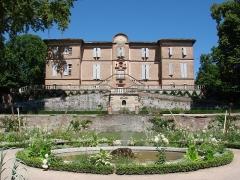 Château d'Hutaud - Français:   Vue du château de Foucaud à Gaillac, construit à partir de 1630 par Jacques de Foucaud, fils de Thomas Foucaud et d\'Anne Thouéry.