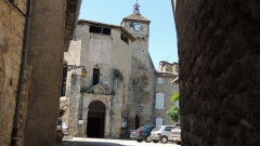 Eglise Sainte-Catherine - Français:   Entrée de l\'église de Penne