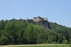 Ruines du château - English: Castle of Bruniquel, Tarn-et-Garonne, France