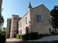 Ruines du château - Châteaux de Bruniquel (Classé)