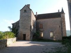 Ruines du château - Français:   Châteaux de Bruniquel (Classé)