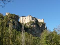 Ruines du château - Français:   Les Châteaux de Bruniquel