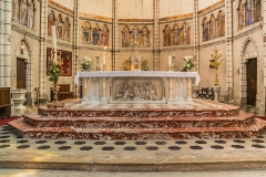 Eglise Notre-Dame de l'Assomption - English: Altar of the church of Our Lady of the Assumption in Caussade, Tarn-et-Garonne, France