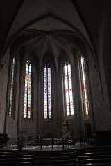 Eglise Saint-Jean-Baptiste - English:  Choir.