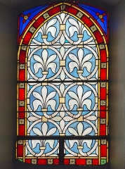 Eglise Saint-Martin - English:  Church of St. Martin in Finhan, Tarn-et-Garonne France - Vitral of the eighteenth century