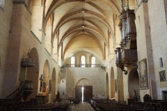 Ancienne abbaye de Moissac - This building is indexed in the Base Mérimée, a database of architectural heritage maintained by the French Ministry of Culture,under the reference PA00095785 .