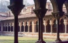 Eglise Saint-Pierre et son cloître - English:  Cloister of Moissac.