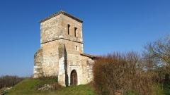 Ancienne église Saint-Nazaire -  église Saint-Nazaire de Molières