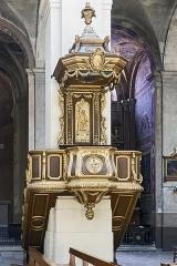 Cathédrale Notre-Dame de l'Assomption - English:  Montauban Cathedral, Tarn et Garonne, France -  Pulipt