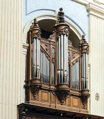 Cathédrale Notre-Dame de l'Assomption - English:  Montauban Cathedral, Tarn et Garonne, France.  Choir Organ by Vincent Cavaillé-Coll, 1873.