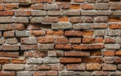 Eglise Saint-Jacques - English: Red brick wall of the Saint James church of Montauban, Tarn-et-Garonne, France