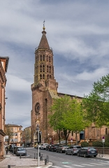 Eglise Saint-Jacques - English: Saint James church of Montauban, Tarn-et-Garonne, France