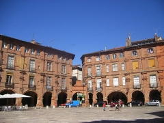 Place Nationale -  Montauban, Place Nationale