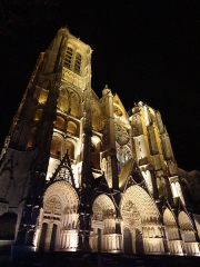 Cathédrale Saint-Etienne - English: The famous cathedral of Bourges.
