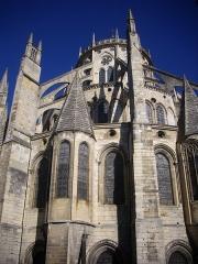 Cathédrale Saint-Etienne - Chevet de la cathédrale Saint-Étienne de Bourges (Cher, France)