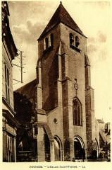 Eglise Saint-Pierre-le-Guillard - English: Bourges, France. Saint-Pierre church. Heliogravure. Publishing house Michel Lévy frères (LL).