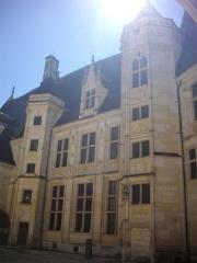 Hôtel ou Palais Jacques-Coeur - Palais Jacques-Cœur, Bourges (Cher, France), cour intérieure