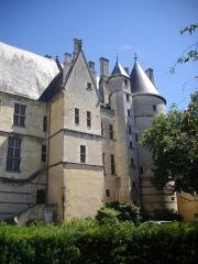 Hôtel ou Palais Jacques-Coeur - Palais Jacques-Cœur, Bourges (Cher, France), façade sur place du Berry